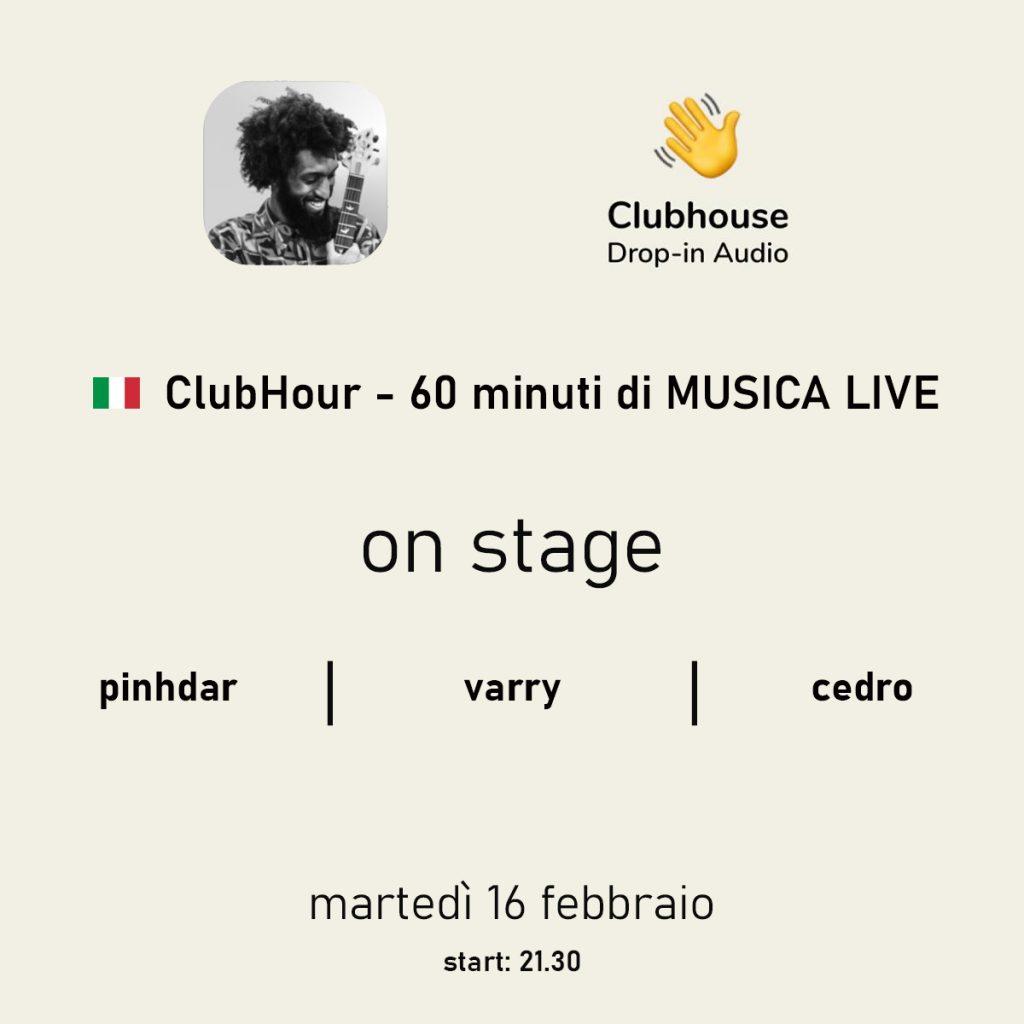 musica su clubhouse