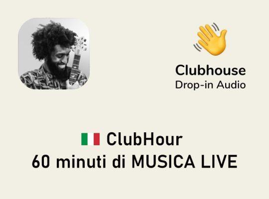 concerti su clubhouse